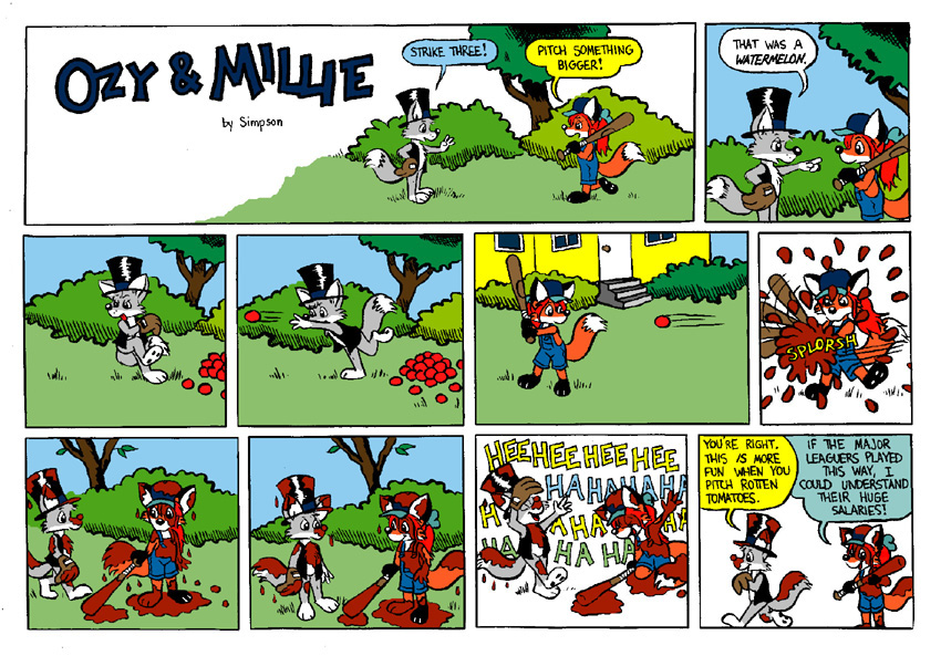 Ozy and Millie: Baseball