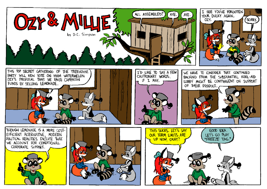 Ozy and Millie: The Treehouse Party